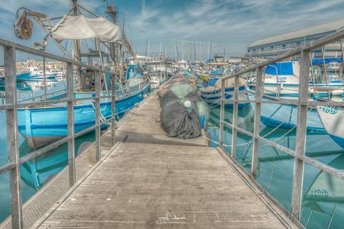 Jaffa Marina Bridge HDR.jpg