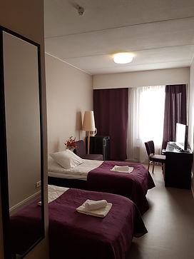 Kahden hengen huone Hotelli Kantrista