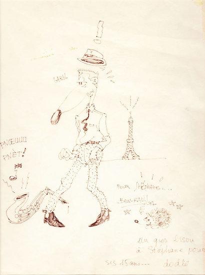Rémi Bernard dit Ben Radis (1956)