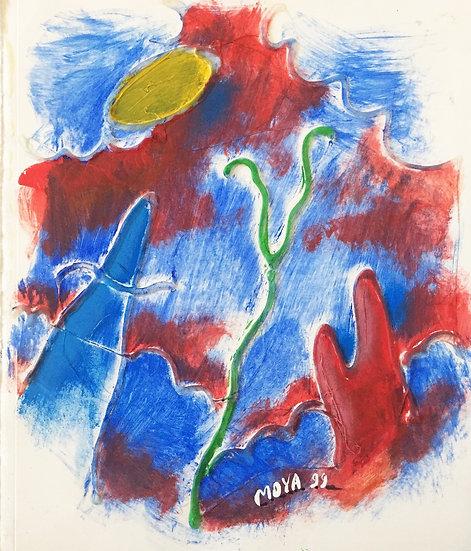 MOYA - Technique mixte sur papier - 1999 - 27 x 23 cm