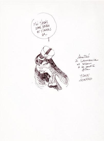 Didier Conrad (1959) et Yann Le Pennetier (1954)