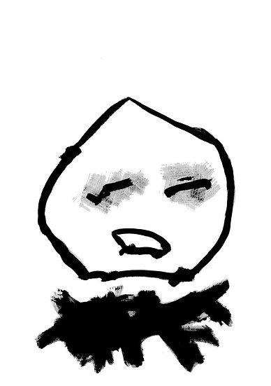 Figure 22 - Acrylique sur papier marouflé sur toile - 100 x 70 cm