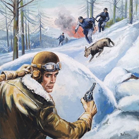 Couverture 93, Téméraire 40, Raid en Norvège