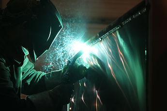 Spray arc fabrication service