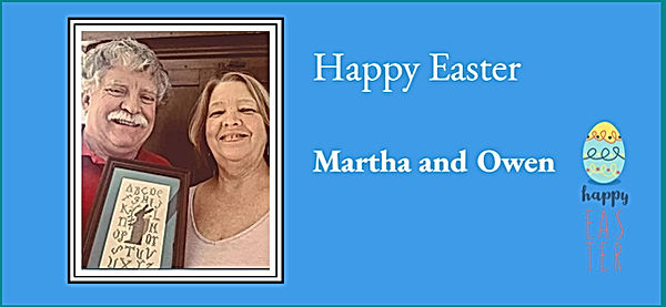 Martha and Owen Easter Greetings.JPG