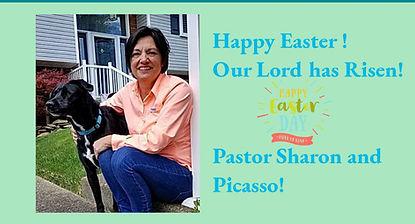pastor sharon easter greeting.JPG