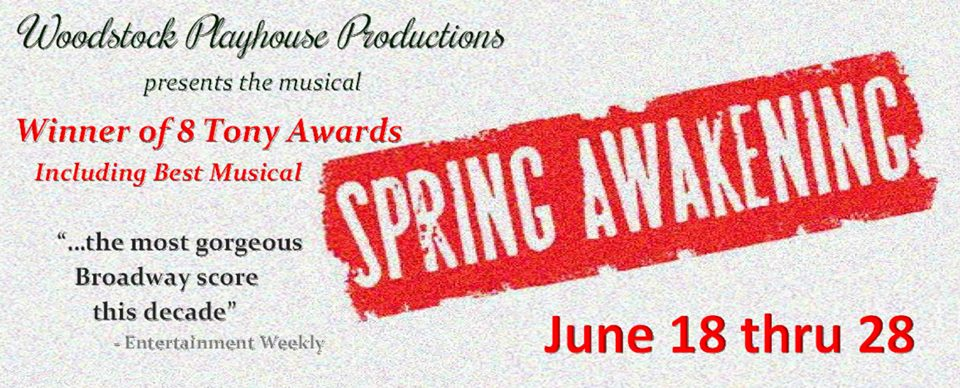 Spring Awakening Woodstock Playhouse