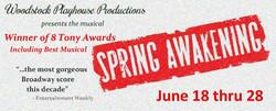 Spring Awakening Woodstock Playhouse