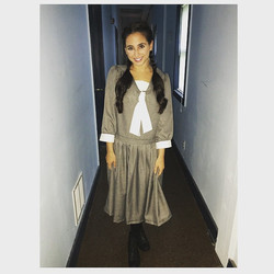Backstage as Thea