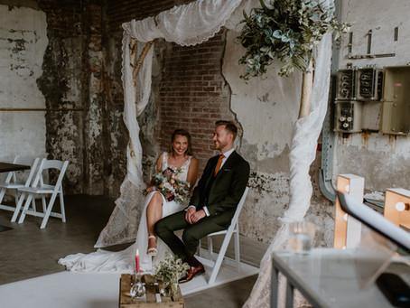Mijn eerste corona bruiloft - Rene en Lisette