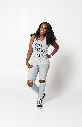 EAT. PRAY. HOPE.® SCRIPT Scoop Tank