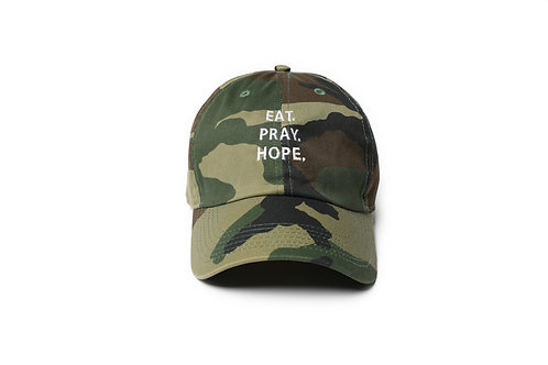 EAT. PRAY. HOPE.® Dad Hat -Stacked