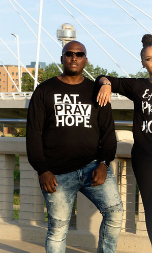 EAT. PRAY. HOPE.® STACKED UNISEX LONG SLEEVE