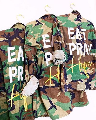 EAT. PRAY. HOPE.® JACKET