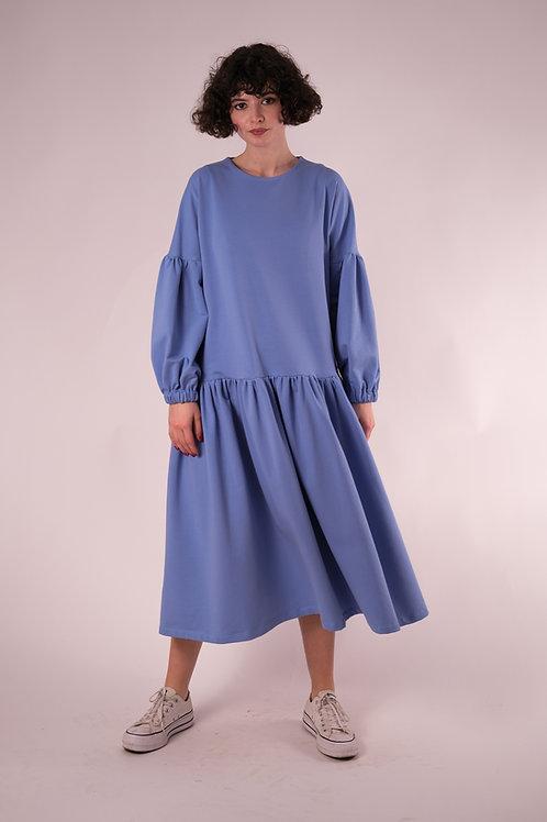 Rochia bufantă din tricot