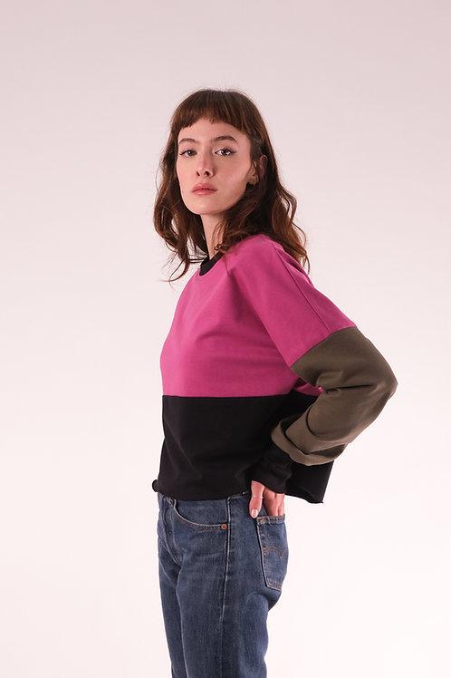Bluza în trei culori