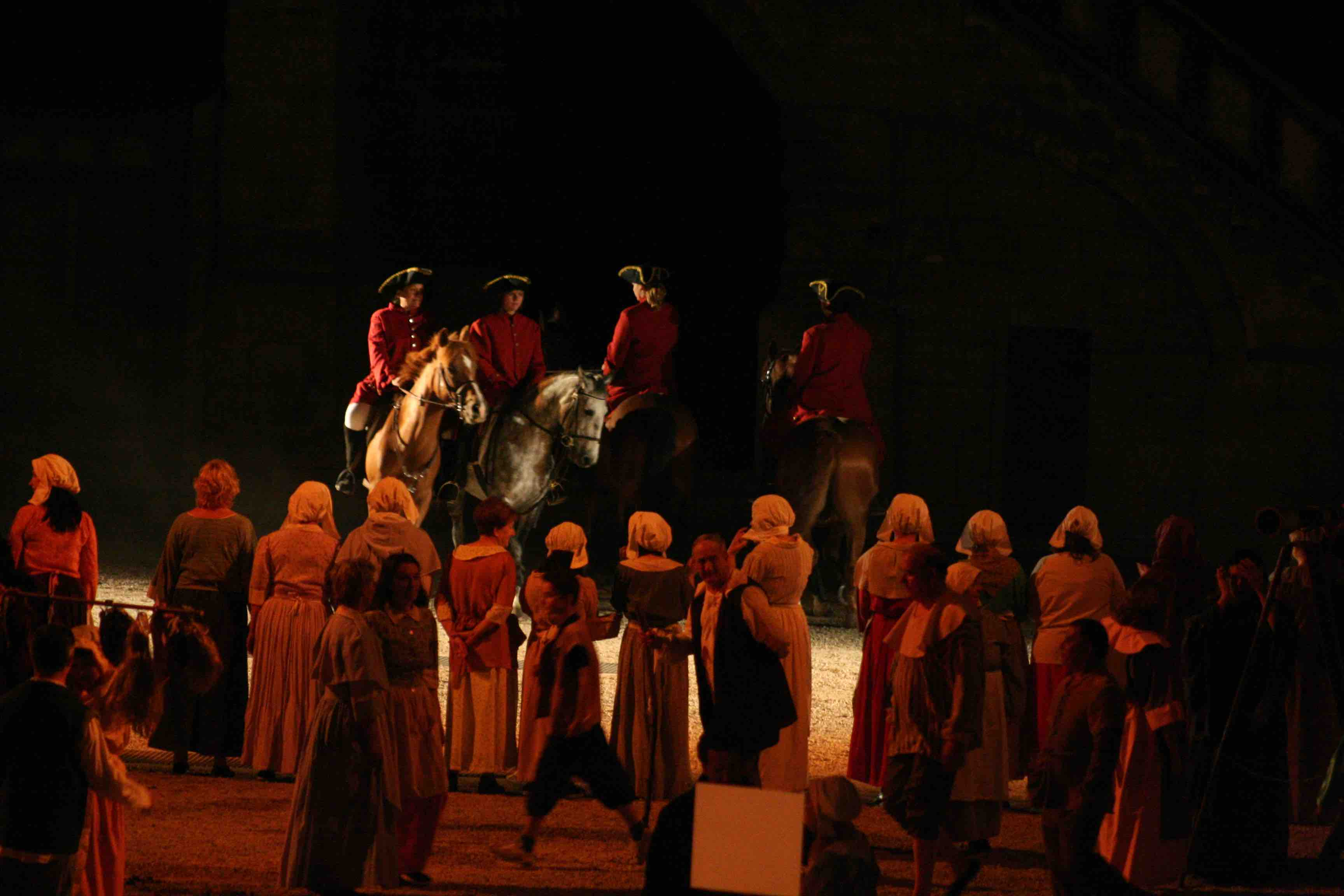 nuit, spectacle, meaux, stephane bern, 77, cheval
