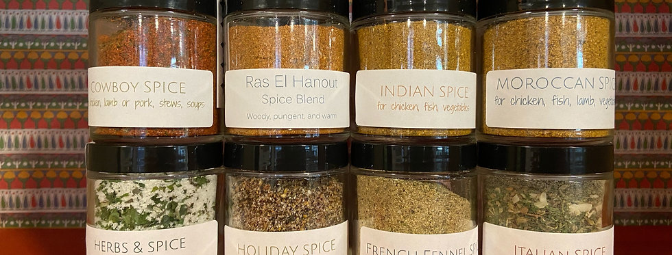 Atlas Spice Box