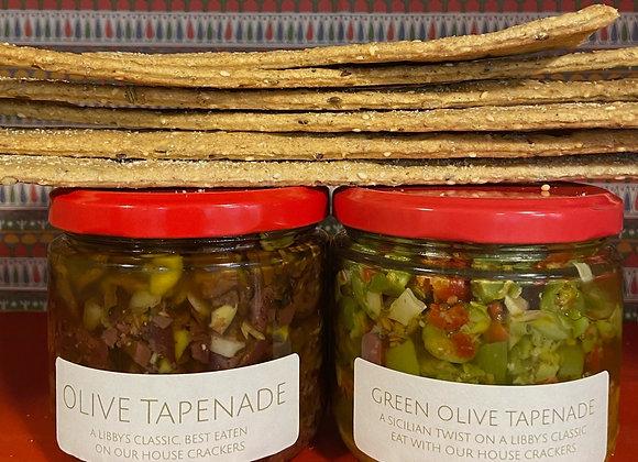 Tapenade & Crackers