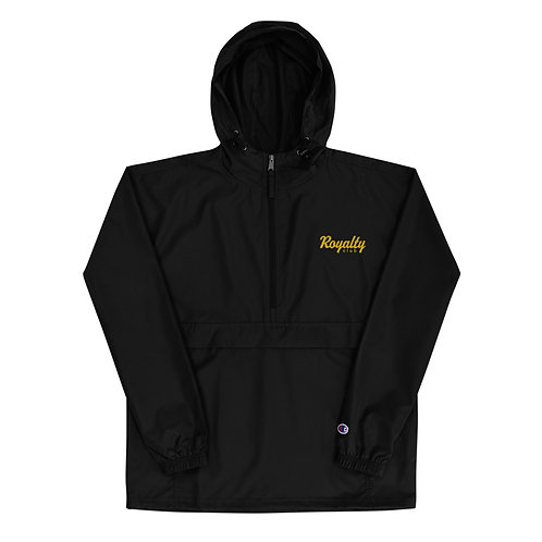 Royalty Club Embroidered  Packable Jacket