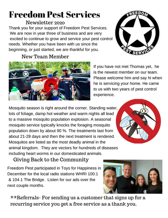 Winter / Spring 2020 Newsletter
