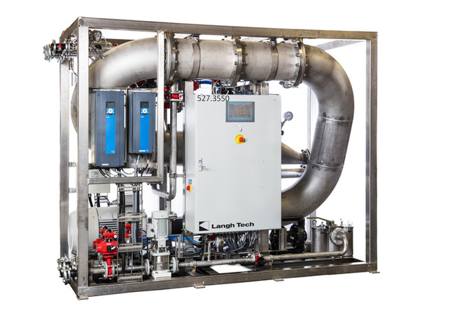 New Langh Tech water treatment systems increase water cleaning capacity