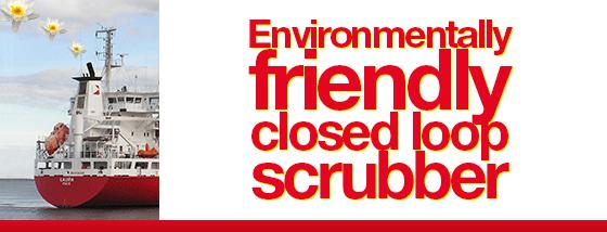 Closed loop scrubber