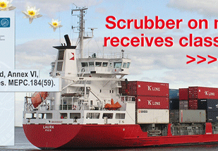 Laura's scrubber receives class approval