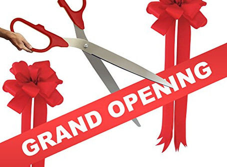 It's Our Grand Opening