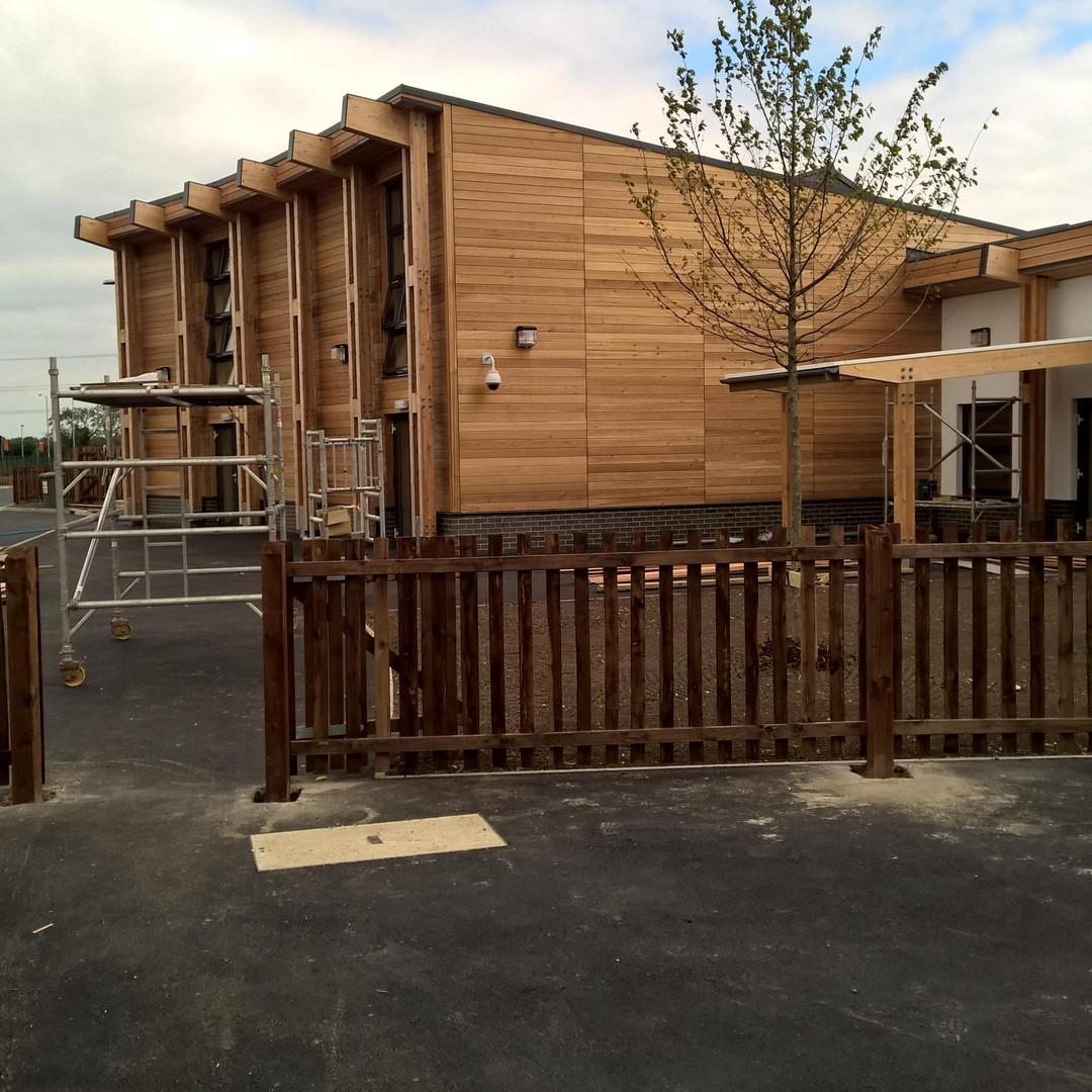 Wooden Eco Building