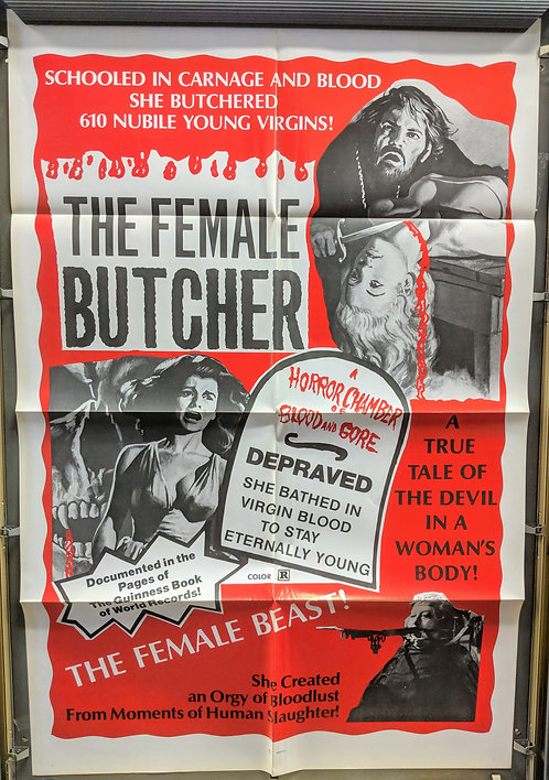 The Female Butcher (Legend of Blood Castle)
