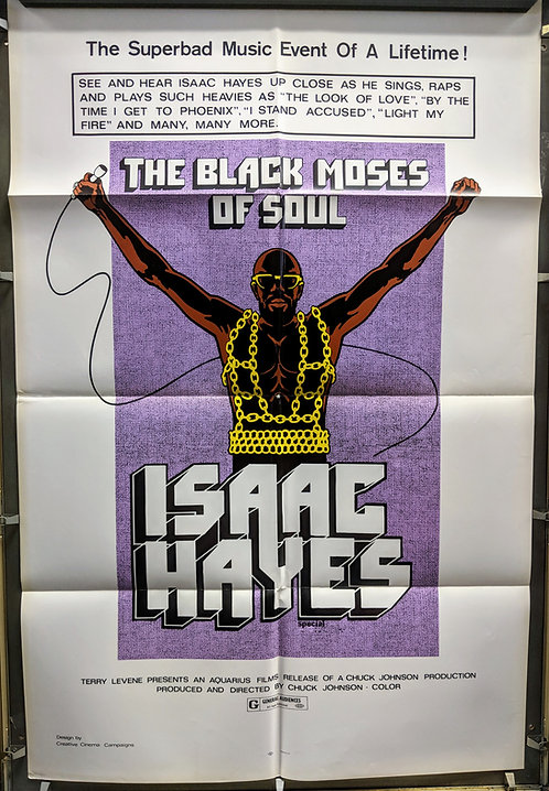 The Black Moses of Soul