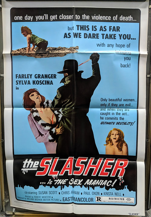 The Slasher ...is the Sex Maniac!