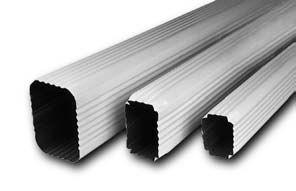 downspouts aluminum