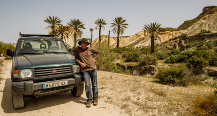 Desierto de Tabernas, Almería.