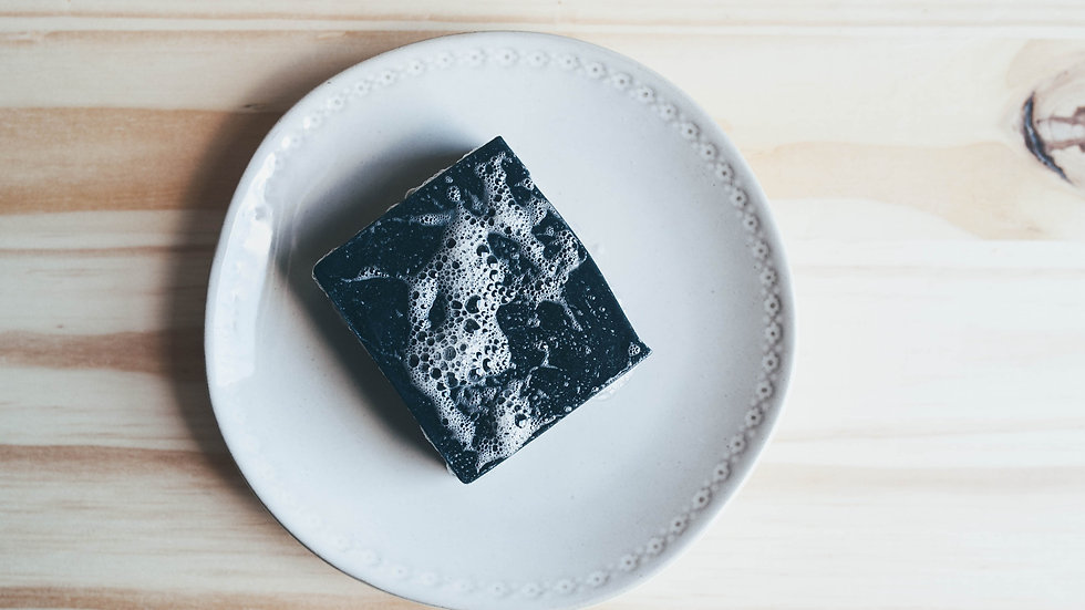 Charcoal and Clay Goat Milk Soap