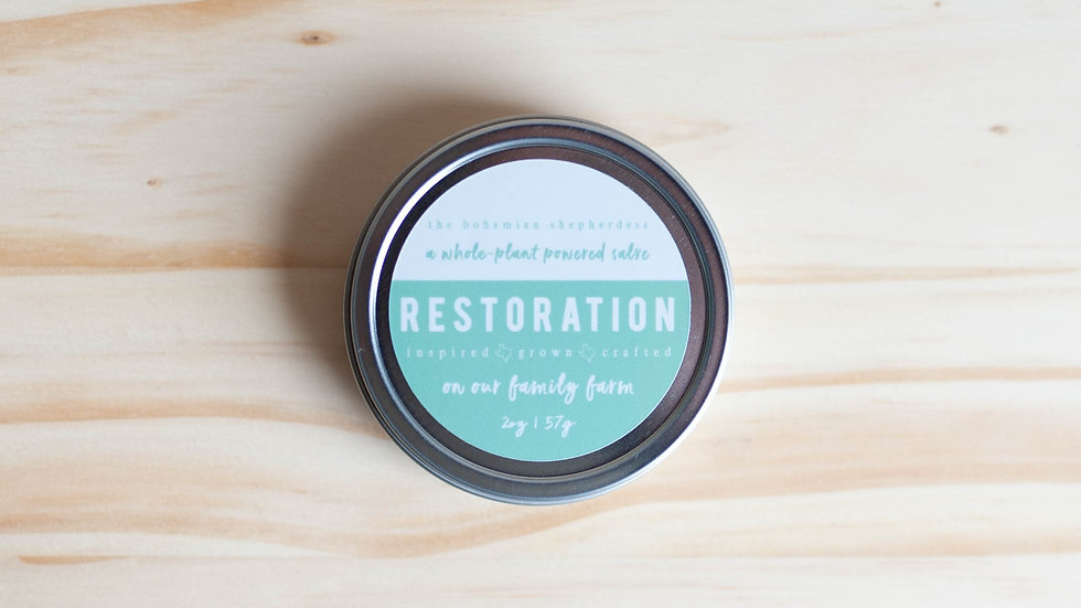 Restoration Salve  2oz