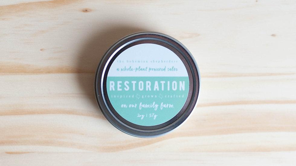 Restoration Salve  2oz