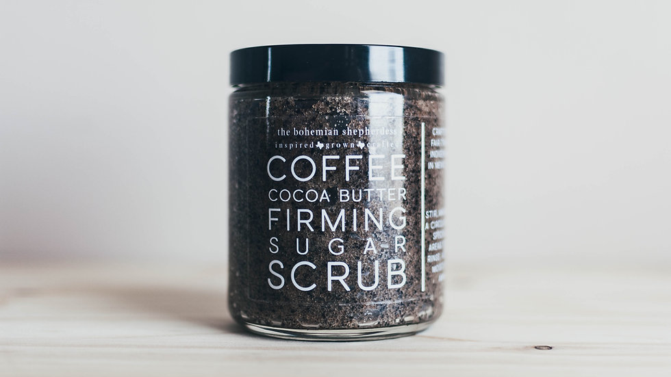 Coffee + Cocoa Butter Firming Scrub