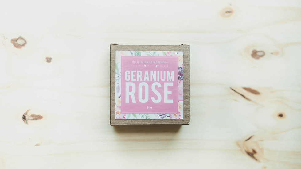 Geranium + Mint Goat Milk Soap