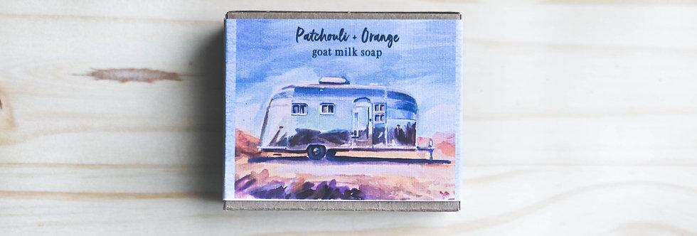 Patchouli + Orange Goat Milk Soap