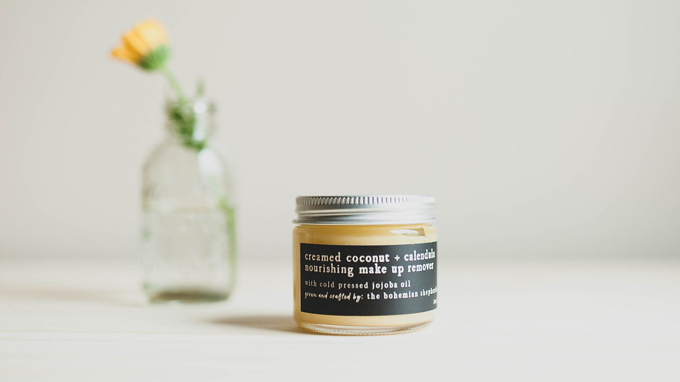 Creamed Coconut and Calendula Soothing Make Up Remover