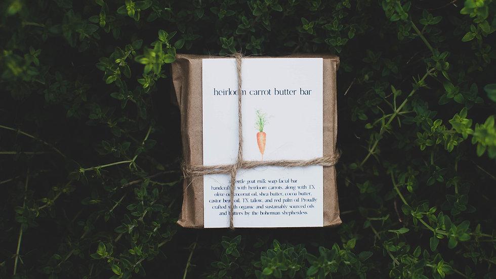 Heirloom Carrot Butter Bar