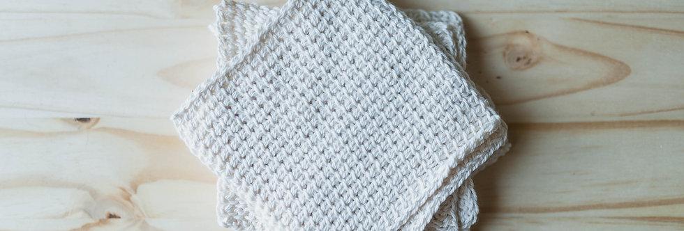 Organic Texas Cotton Washcloth