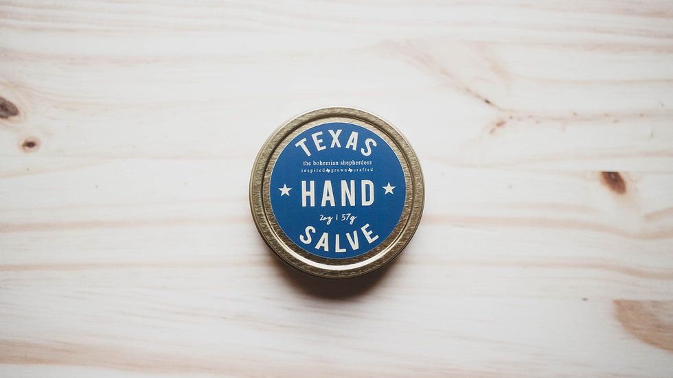 Texas Hand Salve  2oz