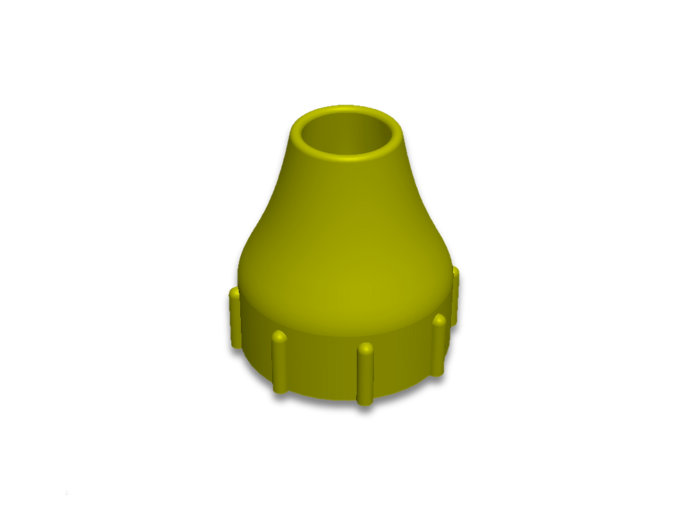 Funnel for sofnolime jugs