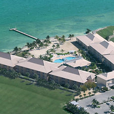 Aerial image of the Holiday Inn Resort