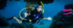A junior open water diver on Mitch Millers reef in Grand Cayman