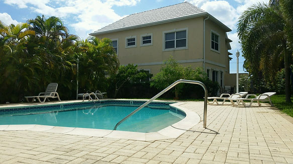 One of the Divetech accommoations - West Point Townhomes in Grand Cayman.