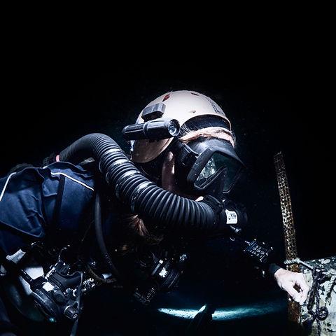 KISS Sidewinder Rebreather Diver